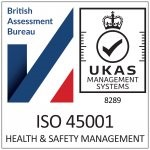 ISO45001 accredited